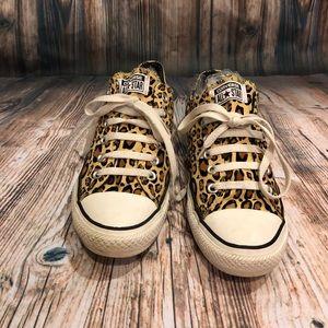 Converse All-star Leopard Print, Women's SZ 9